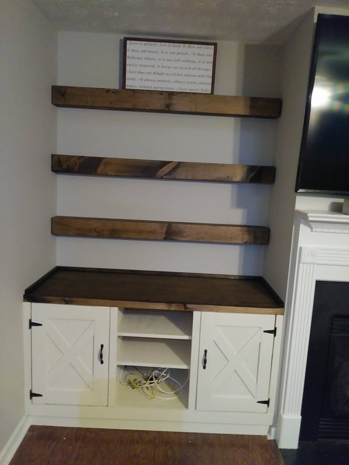 Rustic Cabinetry and Shelves 1