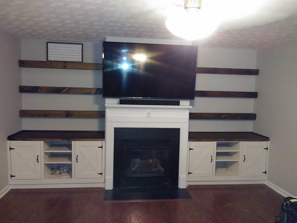 Rustic Cabinetry and Shelves 2
