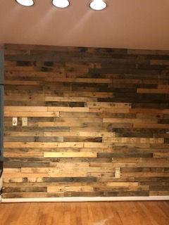 Pallet Wall Installations