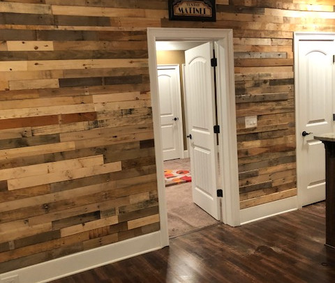 Pallet Wood Wall Designs By Collective Decor