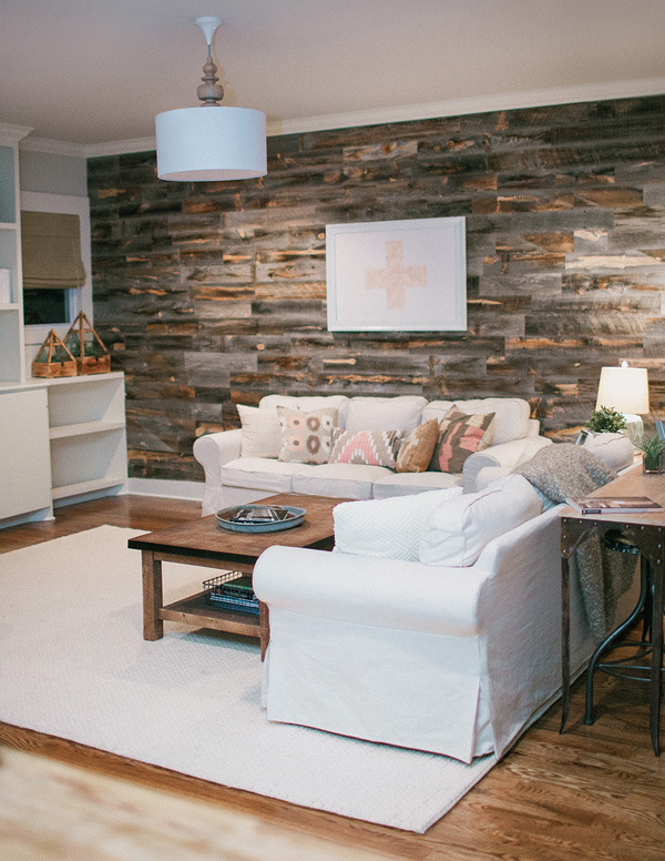 Pallet Wall example 7