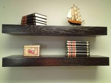 4' Rustic Floating Shelves