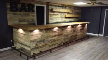 Large Custom Bar Design | Collective Decor