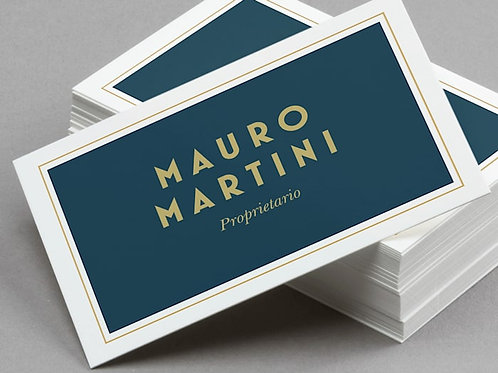 Velvet Laminated Business Cards