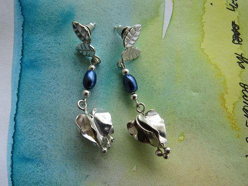 Bouganvillea Earrings - Fancy II