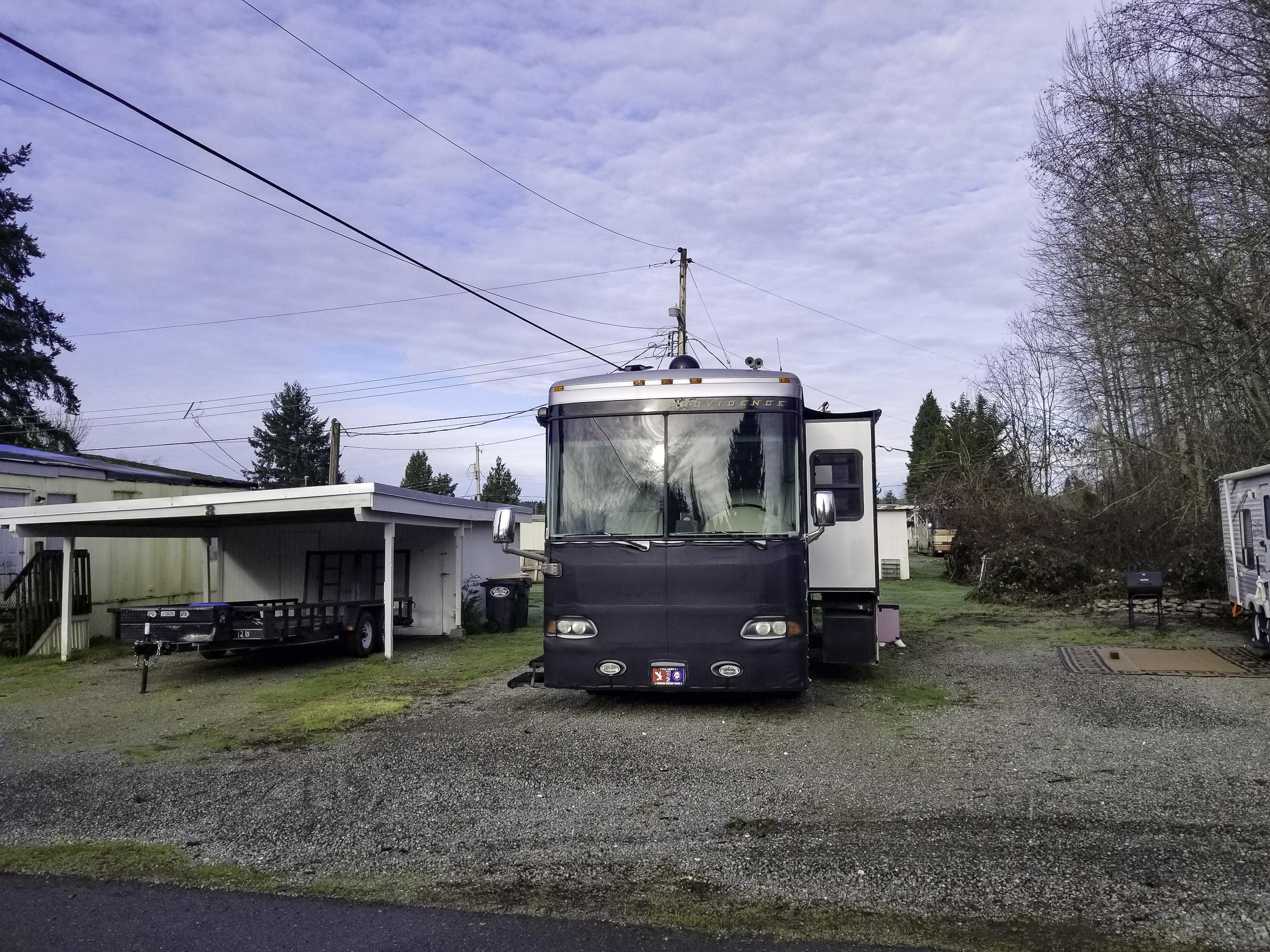 Claudia's Mobile Park Olympia WA RV 4-6.
