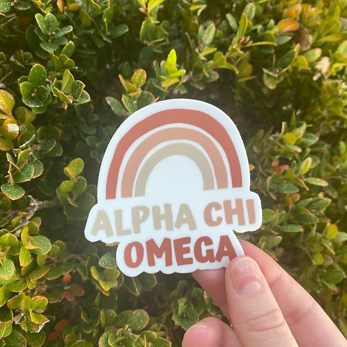 Rainbow AXO Sticker
