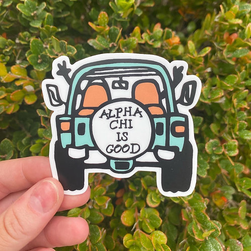 Greek is Good Sticker