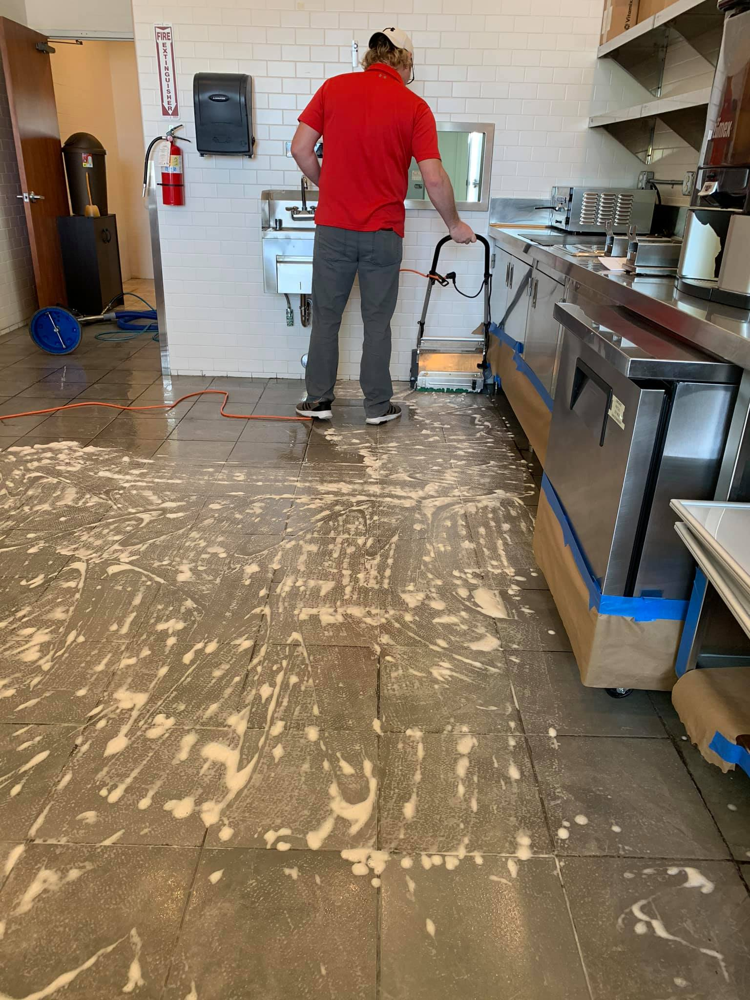 Commercial Tile Clean