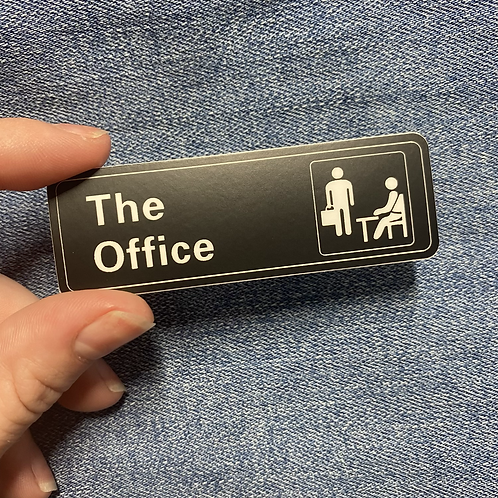 The Office Sign Sticker