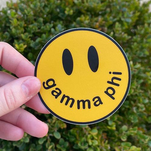 Smiley Sticker