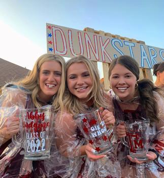 Abby, Macky, & Haley's Dunk