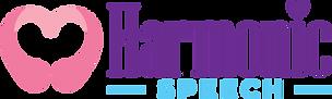 Harmonic Speech Therapy Logo sideways 3.