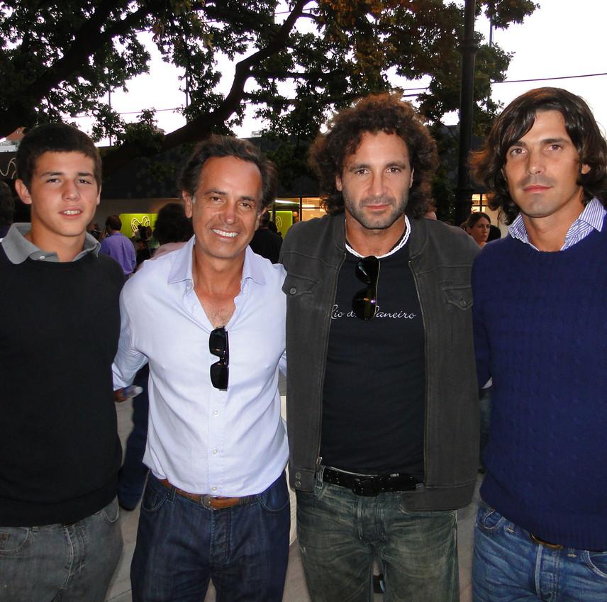 Father w Celebrity - Nacho Figueras, Ric