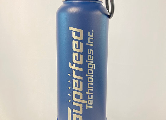 Blue 40oz Superfeed Thermoflask