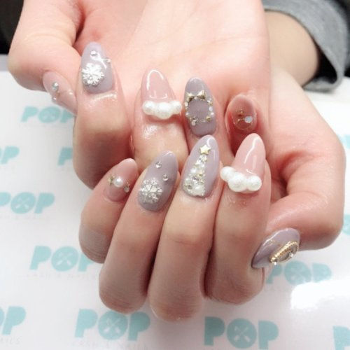 Japanese Gel Nail Art Design
