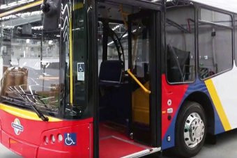 Australian-built low-emission and electric buses launched in SA
