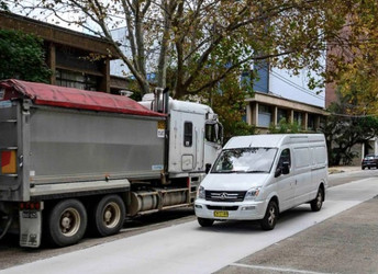 Sydney drives world-first green road trial