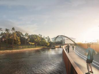 Brisbane fast tracks bridge development