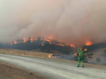 Aerial survey reveals extent of Eastern Victorian bushfire damage