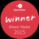 2015 Diners' Choice Award