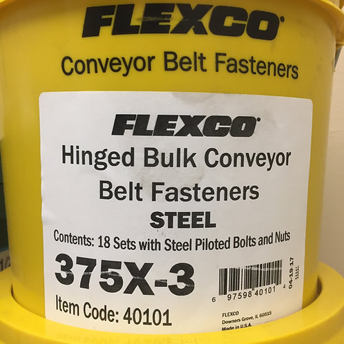 375X-3 Hinged Bulk Conveyor Belt Fasteners 40101