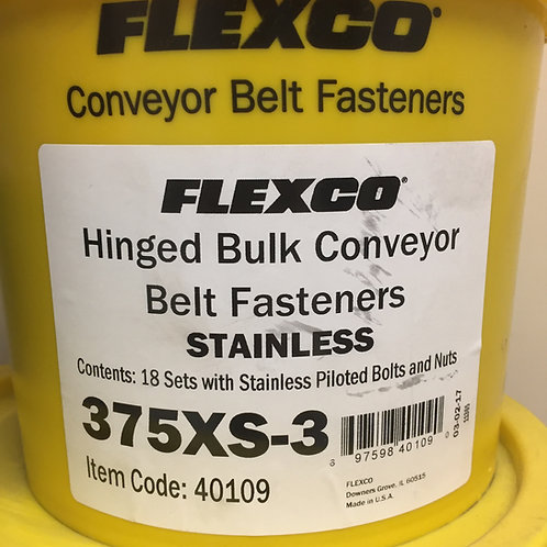 375XS-3 Hinged Bulk Conveyor Belt Fasteners 40109