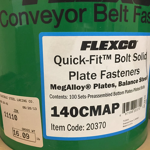 140CMAP Bolt Solid Plate Fasteners 20370