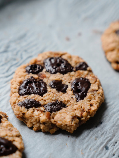 Vegane Chocolate Chip Cookies