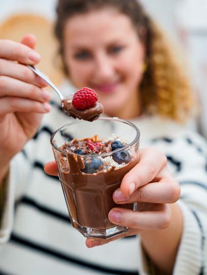 Veganes Schokoladenmousse