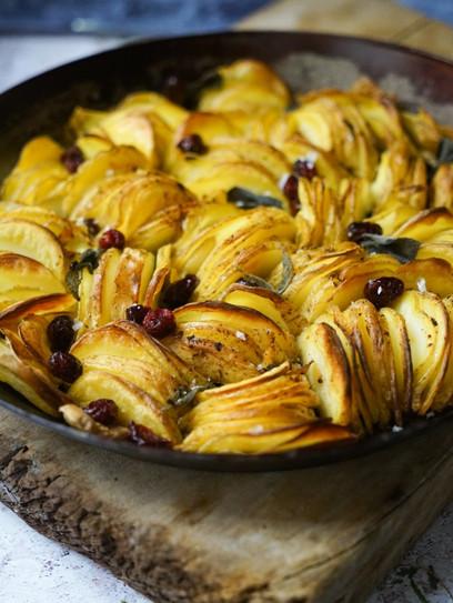 Knusprige Pfannenkartoffeln