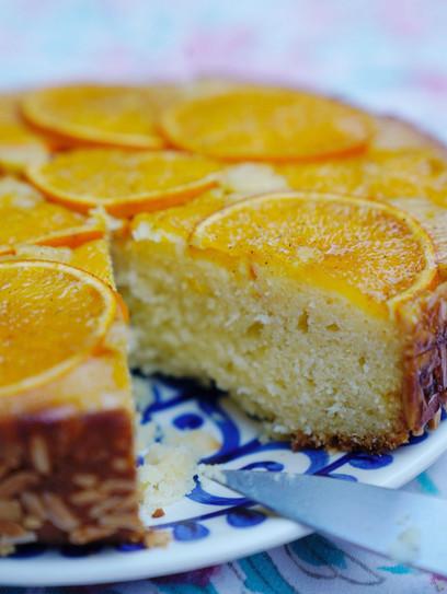 Upside-Down Orangenkuchen