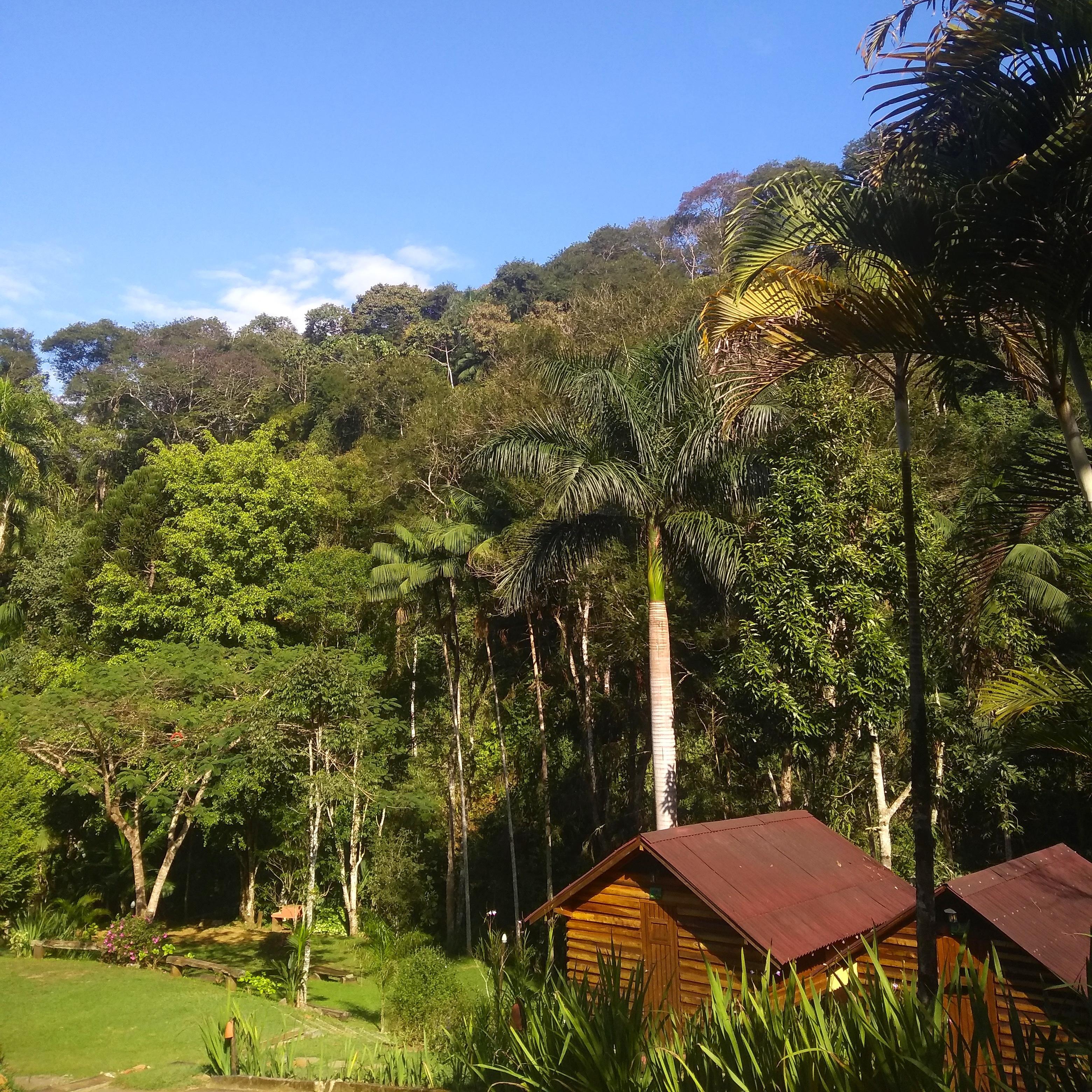 Cabanas, Estacionamento e Camping