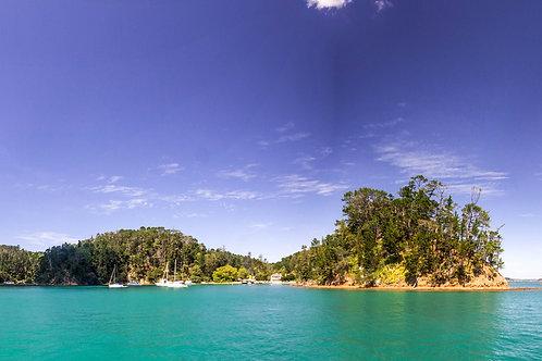 Kawau Island NZ Panoramic