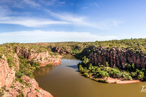 Pats Lookout Katherine Gorge Panoramic