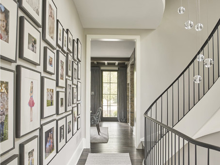Pretty Passages...they may not be the most celebrated spaces, but hallways are a perfect place to ad