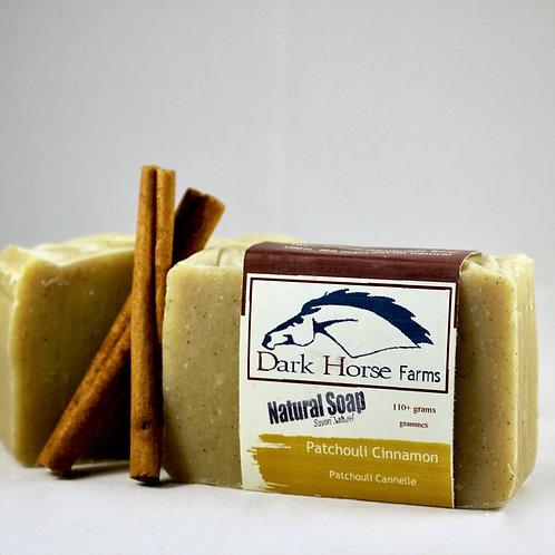 Patchouli Cinnamon Soap