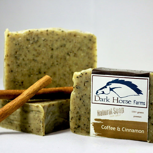 Coffee Cinnamon Soap