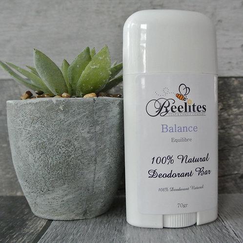 Beeswax Natural Deodorant- Balance
