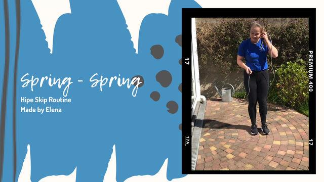 Hipe Skip Routine Spring - Spring