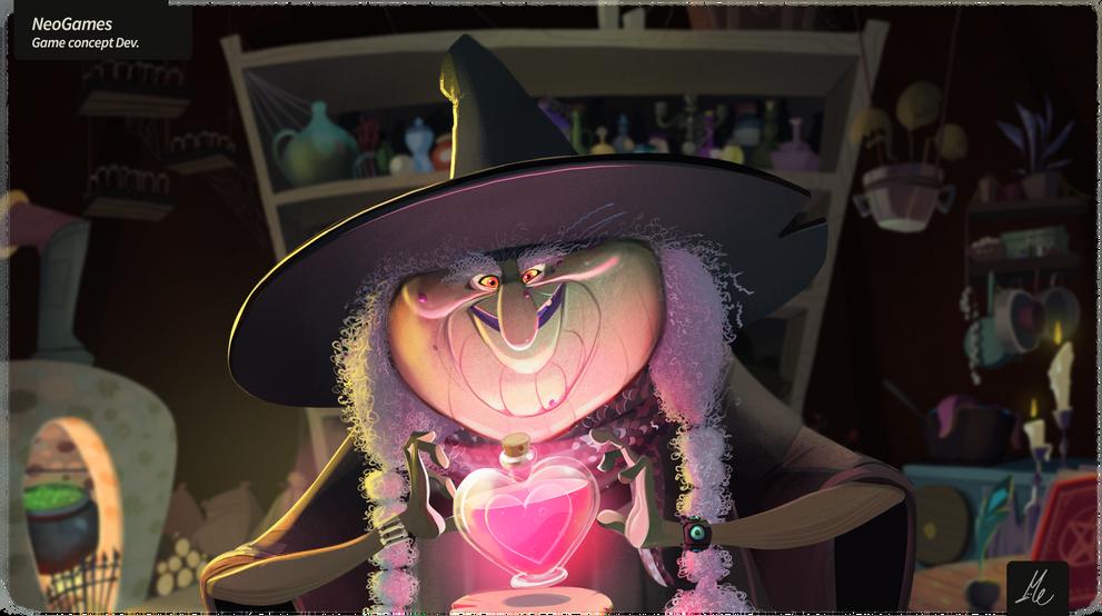 Prince of hearts bonus game - concept frame
