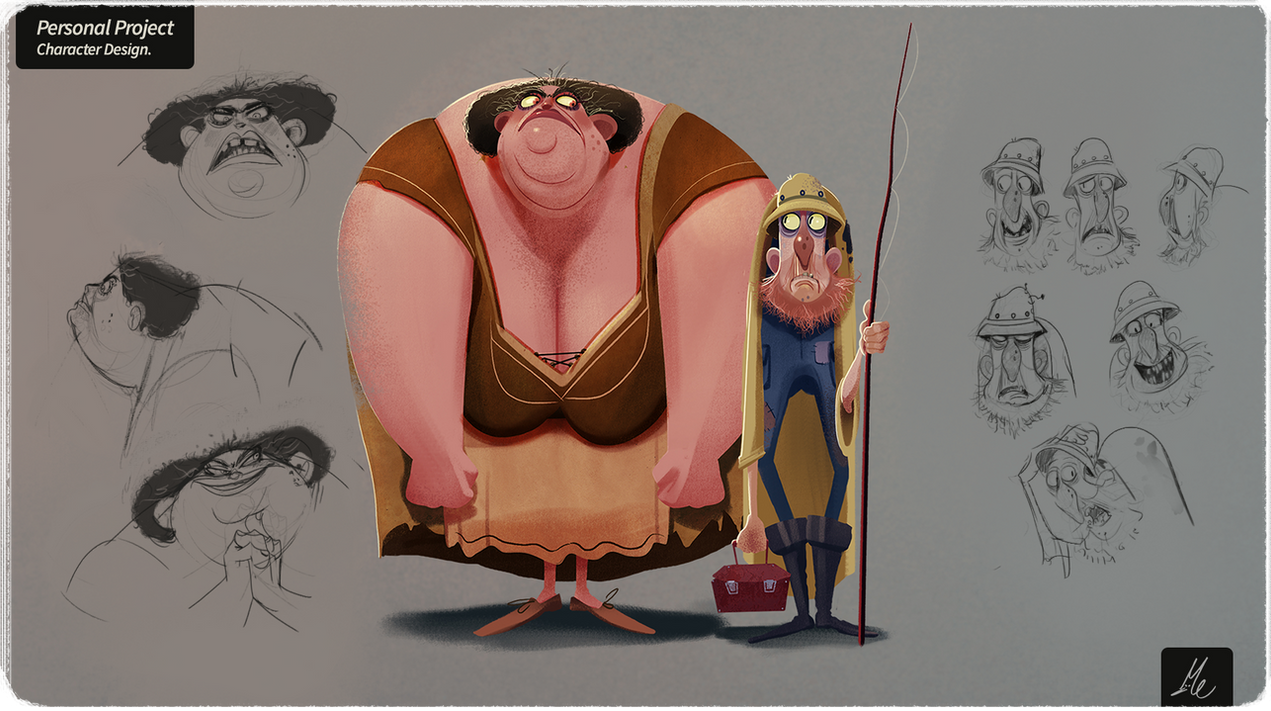 Personal Project - character design
