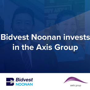Bidvest Noonan invests in the Axis Group