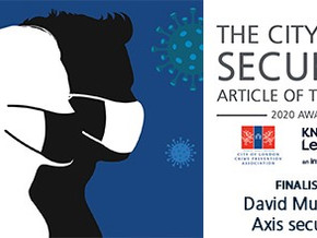 Axis Article Makes Finalist in City Security Article of the Year Award!
