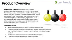 Chromecast Product Overview