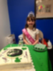 Irish Dance Birthday Party