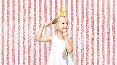 Jeune fille dans Photo Booth Lyon