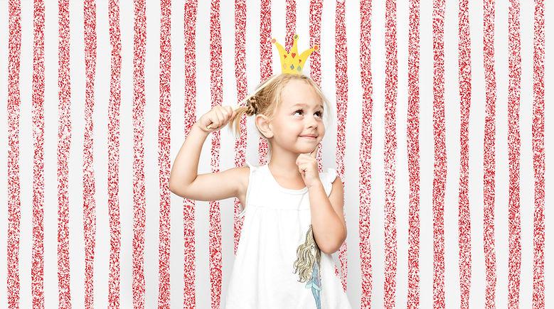Levantando a menina no Photo Booth
