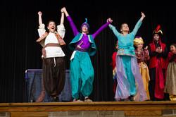Curtain Call of Aladdin Jr.