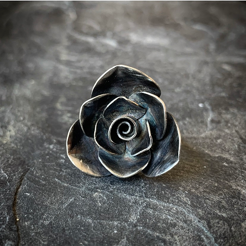 Rose Ring, Size 7 (Large Petal)